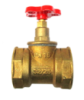 Клапан запорный муфтовый 15б1п Ду 50
