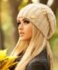 Женская вязаная шапка «Аурелия» - 4047 светлый кофе Код:5117