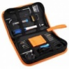 60W 220V Electronic Soldering Iron Kit with Carry Case - EU PLUG LIGHT BLUE