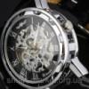 Механические часы Winner Hollow Black