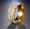 Обручальное кольцо из нержавеющей стали код 1464 16