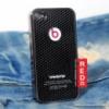 Чехол под карбон Monster Bearts Ledy GaGa для iPhone 4 4s