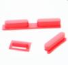 Комплект кнопок iPhone5C (Кнопка питания, громкости, выключения звука) красные orig