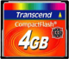 Compact Flash Transcend 4Gb (133x)