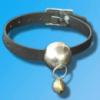 Кожаный кляп с металическим шариком