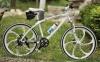 Элитный Велосипед BMW X1 White на литых дисках