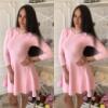 Женское вязаное платье 1217 (16) Код:615579405