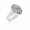 Безразмерное кольцо KOBI REMI с кристаллами Swarovski 7470-0662-27-32