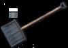 Лопата для уборки снега RL-48
