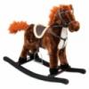 Лошадка-качалка Baby Mix XR019S коричневый