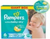 Подгузники Pampers Active Baby-Dry Extra Large 6, 66 шт.