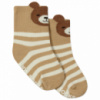 Детские антискользящие носки с начесом Bear Berni