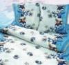 Комплект постельный, из цветной бязи, бязевое, набивное постельное белье