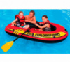 Intex Лодка надувная 58357 Explorer 200 Pro полутораместная, размер 196х102х33см