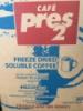 Кофе Эквадор Пресс2 растворимый сублимированный Pres-2 Пресс-2, страна Эквадор 25 кг