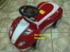 Детская каталка-толокар с резиновыми колесами