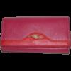 Кошелек женский (заменитель кожи), 0988-PINK/RED Розовый, размер 180*90*25