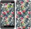 Чехол на HTC Desire 820 Тропические цветы «2872c-133-9980»