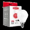LED лампа MAXUS G45 F 4W мягкий свет 220V E14 (1-LED-5411)