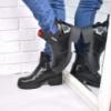 Ботинки женские Karat черные ЗИМА