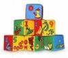 Детские мягкие кубики Цифры 6 штук