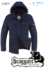 Куртка подростковая на меху Braggart Status - 4317 синяя, темно-синяя, светло-синяя