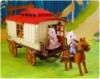 Трейлер с лошадкой и семейкой Happy Family 012-05