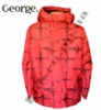 Куртка деми (весна, осень) детская для мальчиков с капюшоном, бренд «George» (Англия)