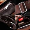 Мужская сумка барсетка Bandicoot натуральная кожа Большая