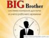 Модуль СКУД Big Brother Отчеты о присутствии на Email