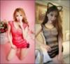 Женский пеньюар сетка / Сексуальное белье / Эротическое белье