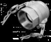 KAMLOK Тип D - РВ 1«- нерж/сталь