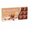 Шоколад Schogetten Cappuccino, 100г. Германия, молочный шоколад с начинкой капучино