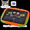 Портативная цифровая ударная установка (8 сенсорных кнопок)
