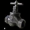 Клапан запорный муфтовый 15кч33п Ду25