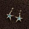 Серьги «Звезды топаза»