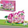 Конструктор SLUBAN «Розовая мечта» Загородный дом 726 дет, M38-B0536