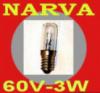 Лампа Narva 60В-3Вт для ж/д транспорта