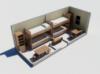 Бытовка строительная Модель ЕВРО 6