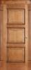 Дверное полотно глухое Ольха № 6/3, 2000*40*600,700,800,900 мм. Цвет- орех.