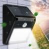 Светодиодный уличный фонарь Rolson 8 диодов беспроводной на солнечной батарее
