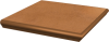 Клинкерные ступени с капиносом угловые Paradyz Aquarius Brown 33х33