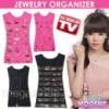 Двусторонний органайзер для хранения украшений Hanging Jewelry Organizer Код:61587910