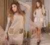 Вязаное платье 01207 Св Код:647347830