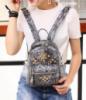 Модный женский рюкзак с заклепками городского типа