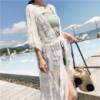 Пляжное платье длинное