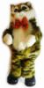 Интерактивная игрушка Кот в полоску Коричневый (SKD-0603)