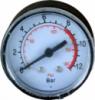 Манометр 53мм 1/4« 12BAR-180PSI (пластмасс. корпус)
