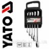 Набор накидных ключей с трещоткой YATO 5 st  8-19мм YT-5038 Код:17155828