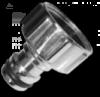 CYNK CHROM Адаптер на кран РВ 1/2«
